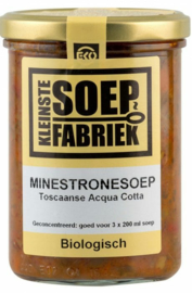 BIO Minestronesoep Acqua Cotta (Toscaanse Herdersoep) Kleinste Soepfabriek