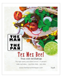 THT 27-11  The MAN with the PAN Spice Blend Tex Mex Beef
