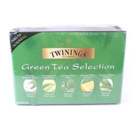 Twinings Full Box Green Tea 6 x 10 st. mix