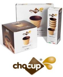 ChoCup (Eetbare cupjes voor koffie, thee, warme chocomelk)