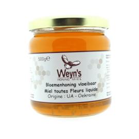 Weyn's bloemen honing 500 gram (Vloeibaar)
