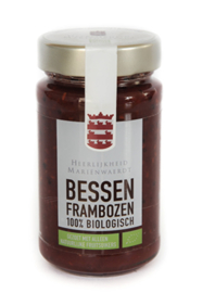 BIO 100% fruit Bessen Frambozen suikervrij Mariënwaerdt