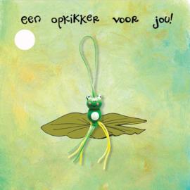 Mini Kaartje met gelukspoppetje: Een Opkikker voor Jou!