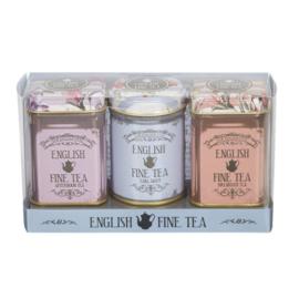 New English Tea Mini Tea Victorian 3 x 25 gram in blik