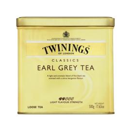 Twinings Thee los in blik Earl Grey 500 gram