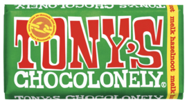 Tony's Chocolonely Melk Hazelnoot