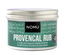 NOMU Provencaalse Rub BBQ (lams, elk gebraden vlees, gegrilde groente)