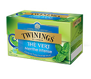 Twinings Green Intense Mint 20 st. (groen)