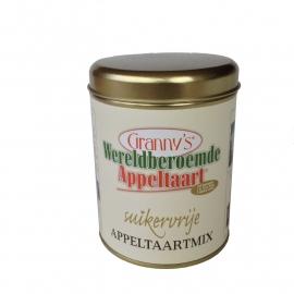 Granny's appeltaart mix in blik SUIKERVRIJ   (5x100 gr.)