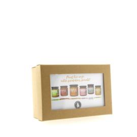 VANMAX Pindakaas Cadeau verpakking 6 MINI potjes