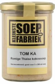 Tom Ka soep  (Thaise Kokossoep) Kleinste Soepfabriek