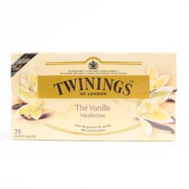 Twinings Thee Vanilla 25 st. (zwart)