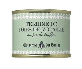 Comtesse du Barry Terrine van Gevogeltelevers met truffel