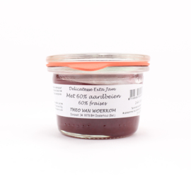 Woerkom's aardbei delicatessen confituur MINI