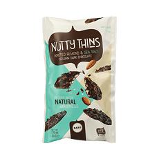 BARÚ Nutty Thins Roasted Almond & Sea Salt (6 zakjes)