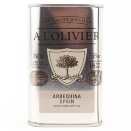 A L'olivier Olijfolie Arbequina Extra Vergine Spanje
