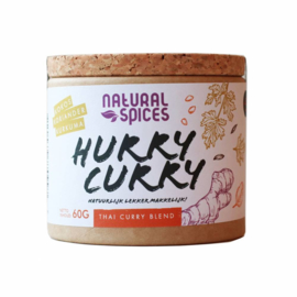 Natural Spices Hurry Curry kruiden