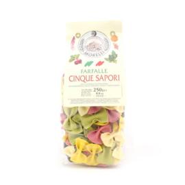 Morelli Pasta Farfalle 5 Colors