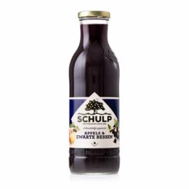 Schulp  Appel-Zwarte bessen sap 0,75 liter