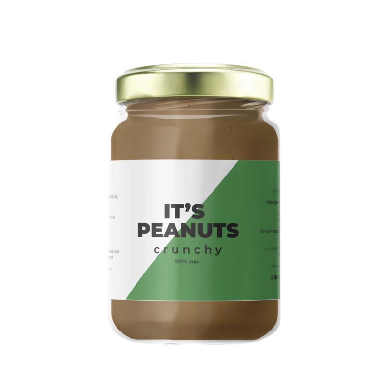 Zoete Moed It's Peanuts Pindakaas Crunchy