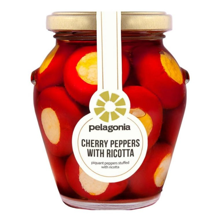 Pelagonia Cherry Peppers met Ricotta (peppadew variant)