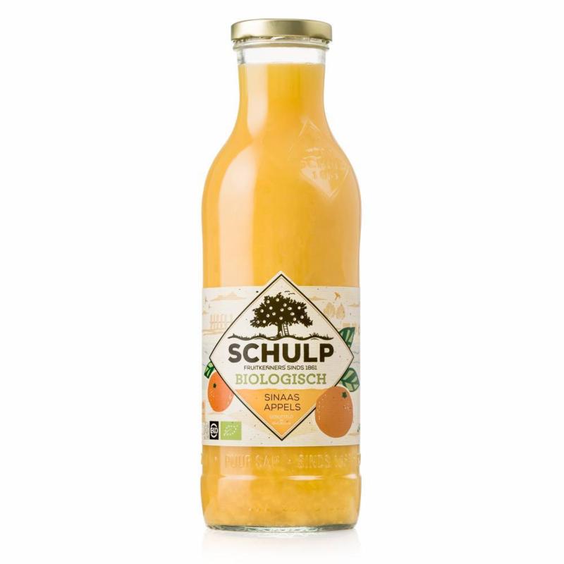 Schulp Biologisch sinaasappel sap 0,75 liter