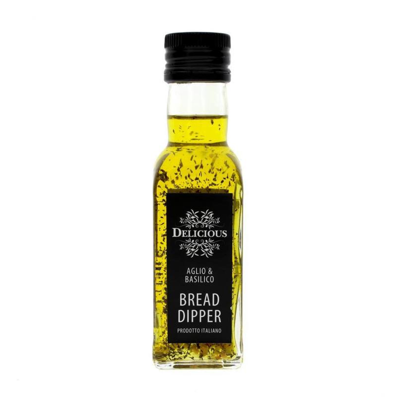 Delicious Breaddipper met Knoflook & Basilicum