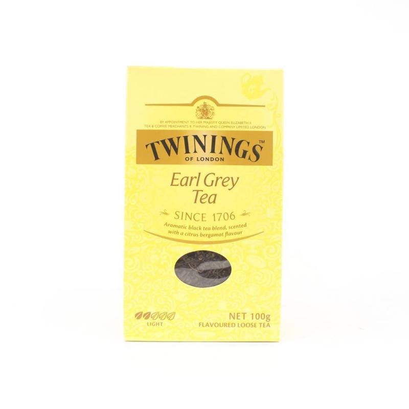 Twinings Thee los in karton Earl Grey 100  gram