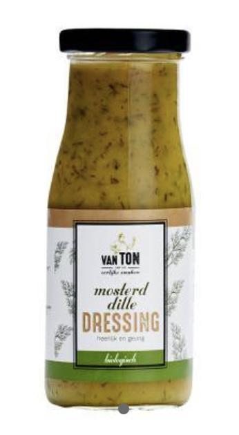 van TON Mosterd Dille dressing BIO