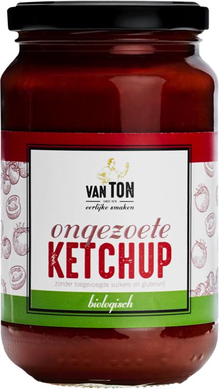 van TON BIO Ongezoete Ketchup