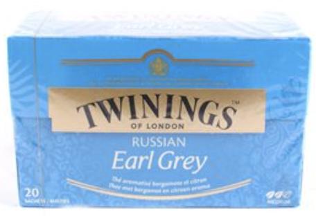 Twinings Thee Russian Earl Grey 20 st. (zwart)