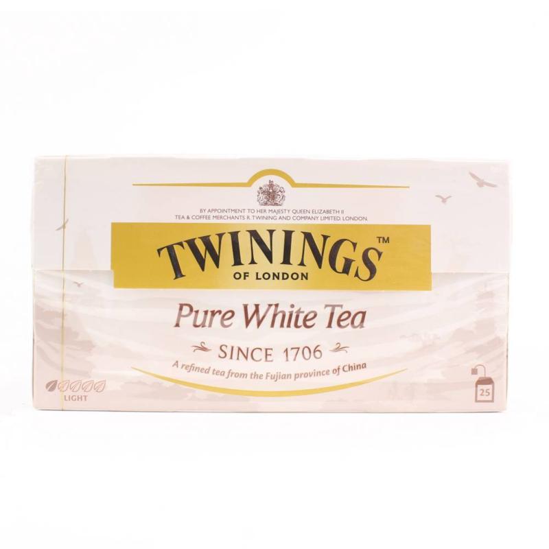 Twinings Thee  White Tea (25 stuks)