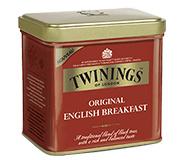 Twinings Thee Los in blik English Breakfast 500  gram