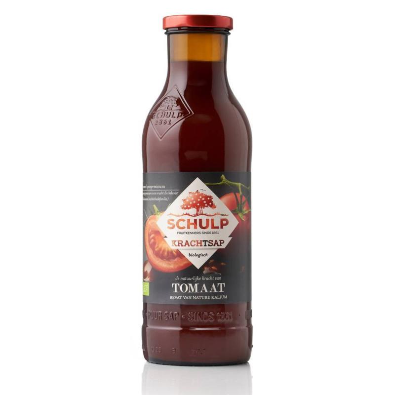 Schulp BIO Krachtsap Tomaten sap 0,75 liter