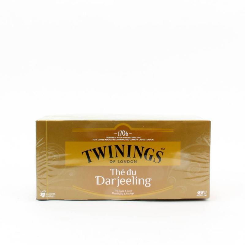 Twinings Thee Darjeeling 25 st. (zwart)