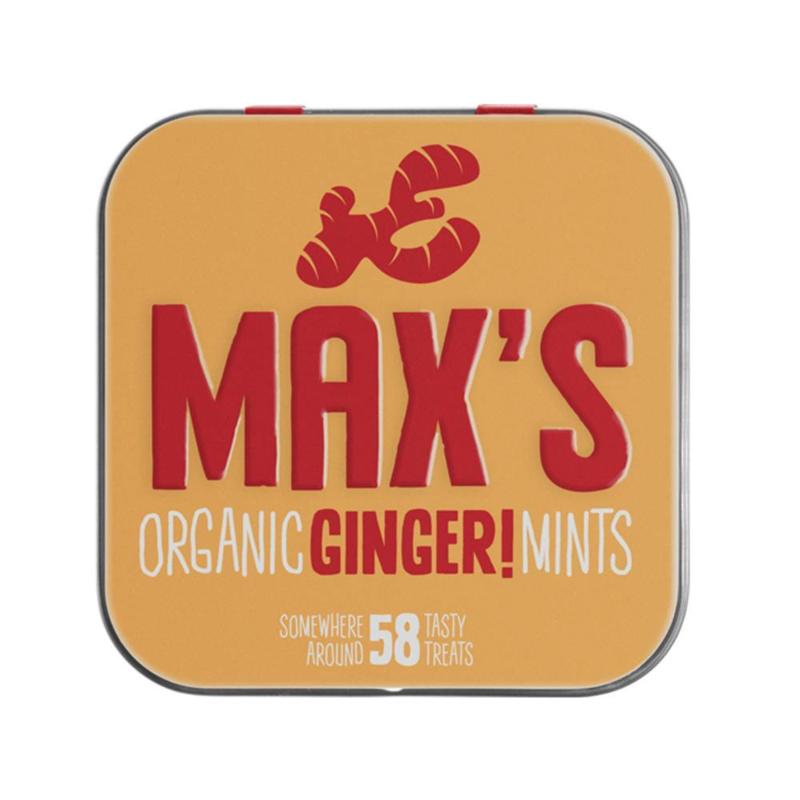 Max's Biologische Ginger Mints