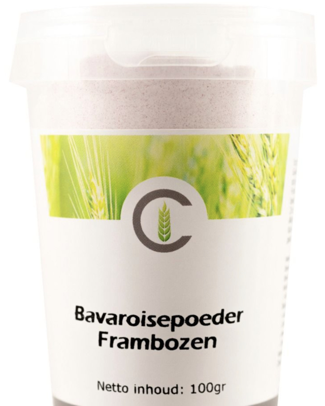 Custers Bavaroise Framboos 100 gram
