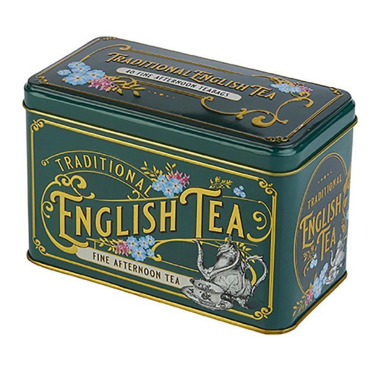 New English Tea Victorian 40 zakjes in blikje