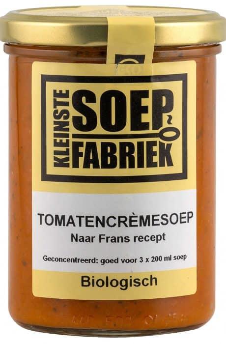 BIO Tomaten crèmesoep Kleinste Soepfabriek