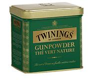 Twinings Thee Los in blik Gunpowder Green 200 gram
