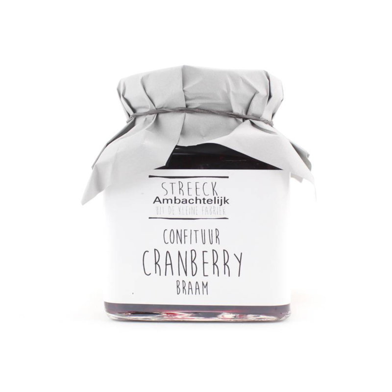 Streeck Confiture Cranberry Braam
