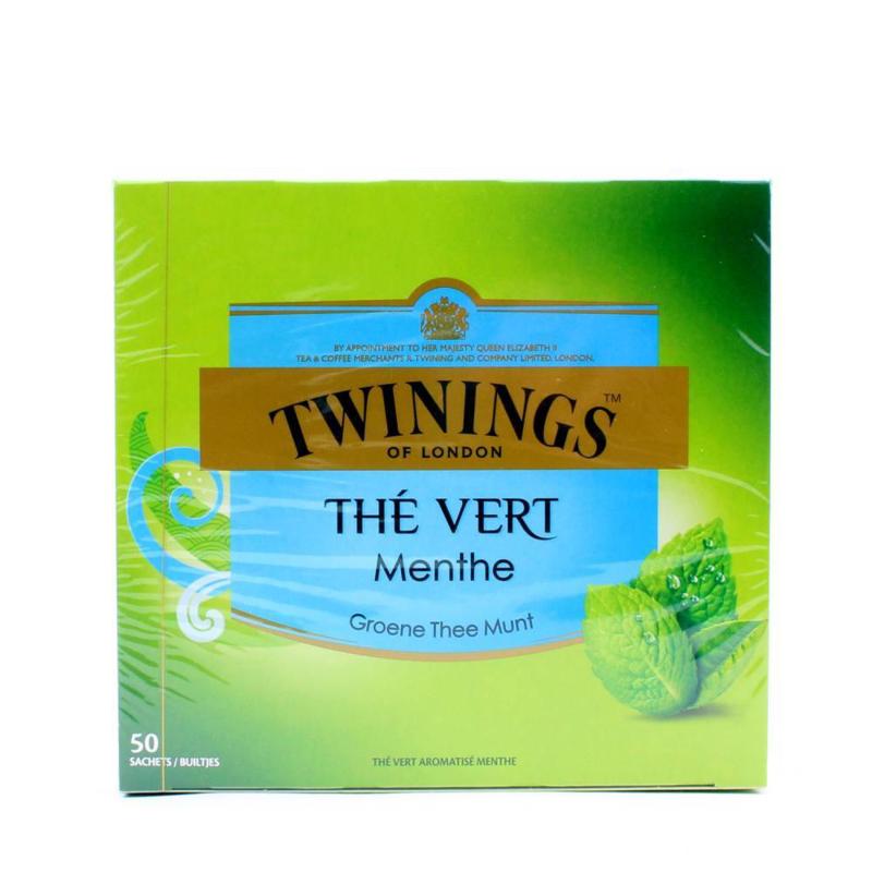 Twinings Thee Green Mint 50 st.