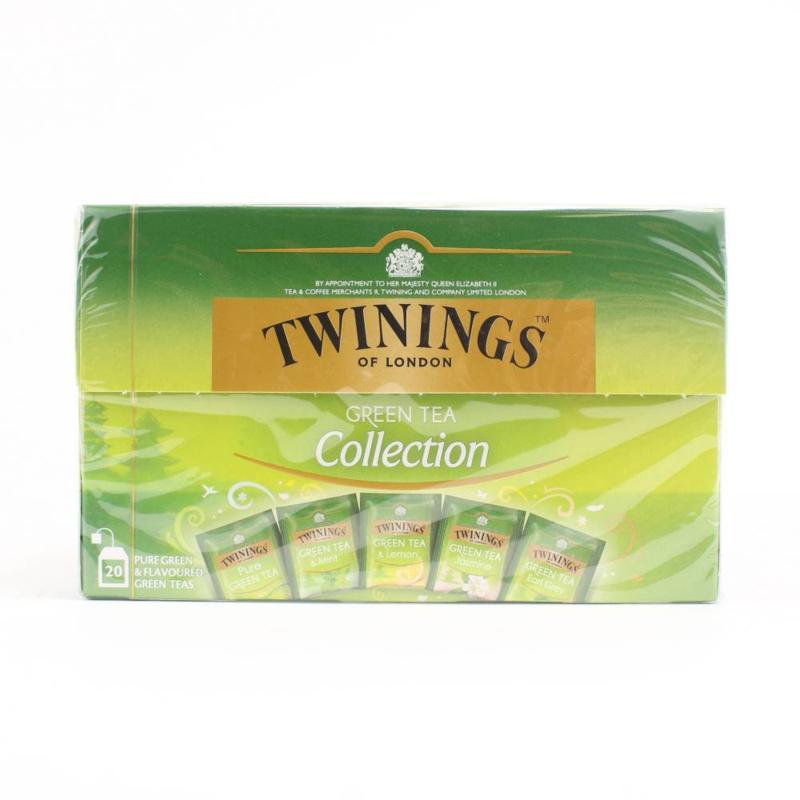 Twinings Thee Green Collection 20 stuks (groen)