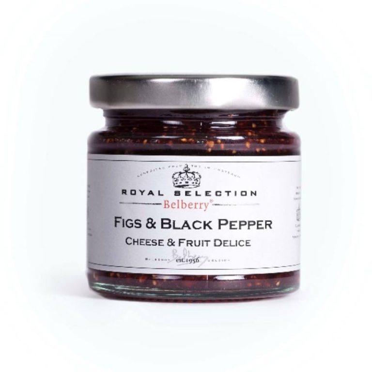 Belberry Vijg Zwarte Peper Kaasbegeleider
