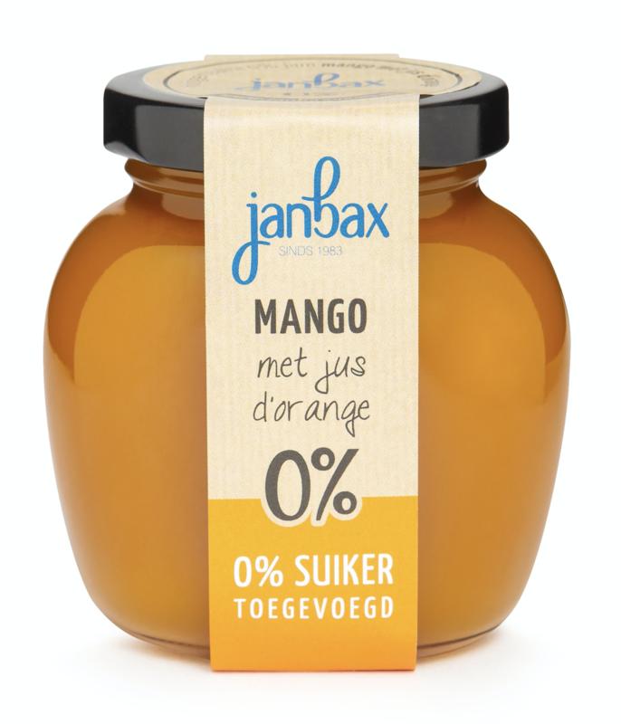 Jan Bax Intense Jam Mango Jus D'orange