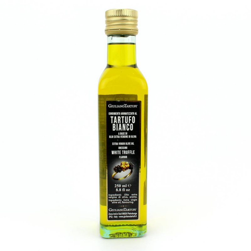 Giuliano Tartufi Olijfolie met witte truffel 250 ml.