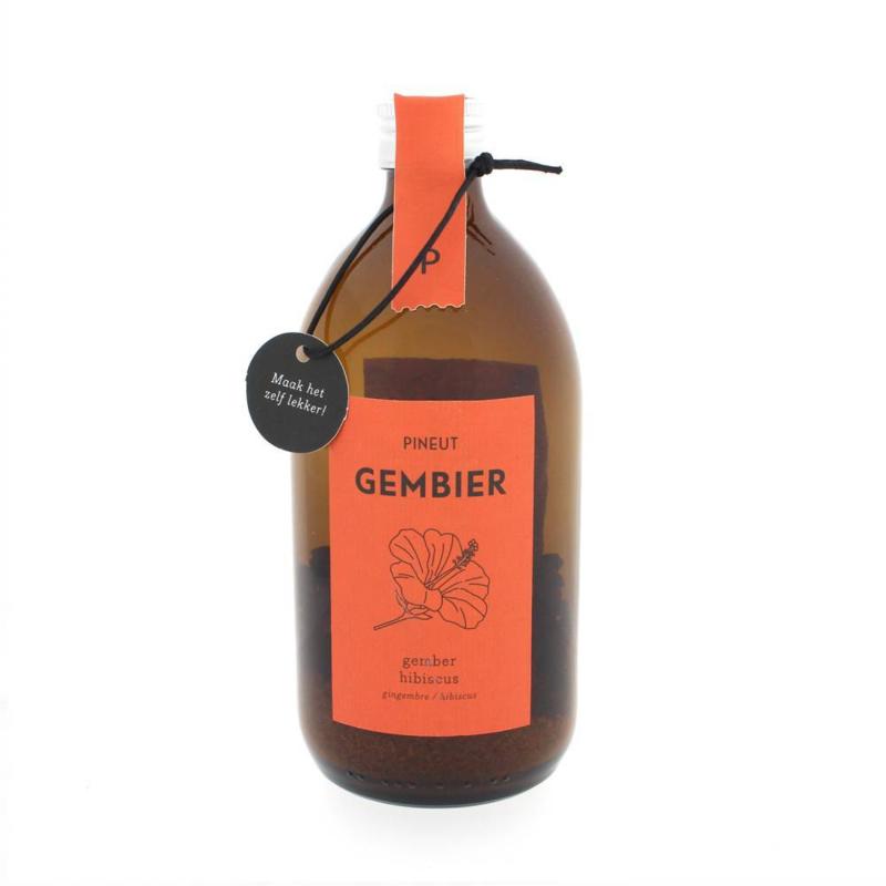 Pineut Gembier Hibiscus en Appel