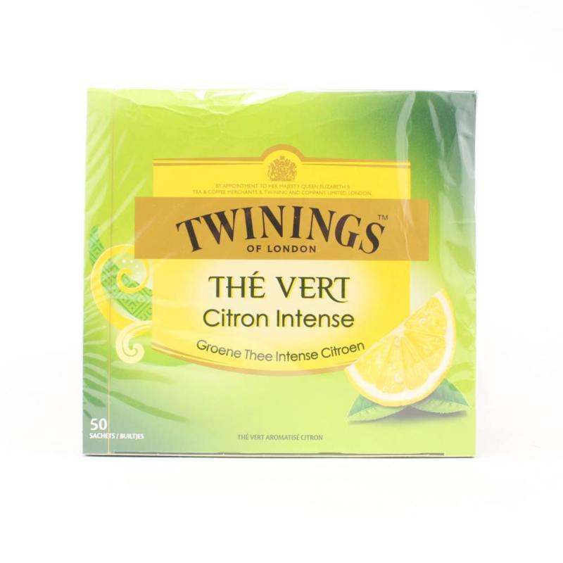 Twinings Thee Green Lemon 50 st.