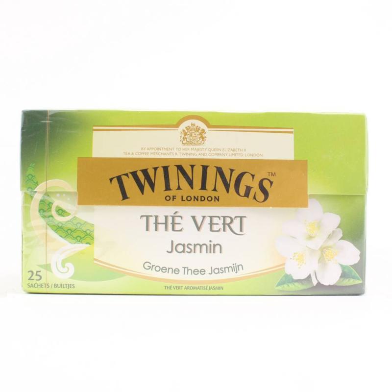 Twinings Thee Green Jasmine 25 st. (groen)