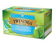 Twinings Thee Green Mint 25 st. (groen)